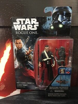 Star Wars Rogue One Chirrut Imwe 3.75 Inch Figure - Rogue One Pack