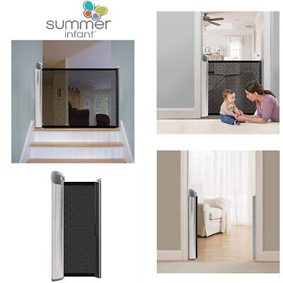 """Summer Infant Retractable Safety Gate Expandable Stair Child Pet Baby 50"""""""