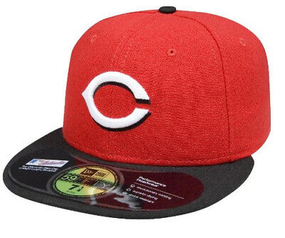 (Cincinnati Reds, 7 3/4) - New Era MLB Road Authentic Collection On Field