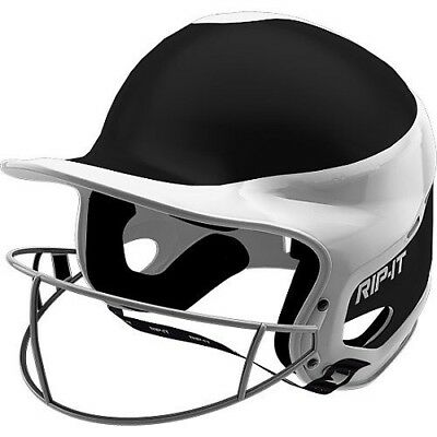(Large, Blue) - Rip-It Vision Pro Away Softball Batting Helmet. Shipping is Free
