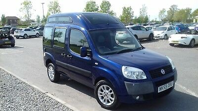 Fiat Doblo High Roof Campervan **Last Chance. Last Reduction""