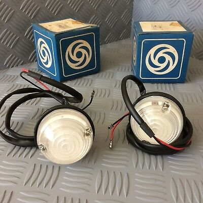 Land Rover Series 2A, 3 Front Side Lights, New Old Stock.  Pair