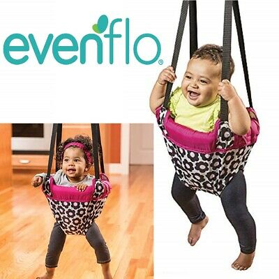 Evenflo Exersaucer Portable Doorway Jumper, Baby Swing Jump Up Bouncer , Owl