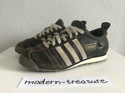 check out 955d5 8db3c ADIDAS CHILE 62 Sneaker Leder Braun Gr 41 1/3 UK 7,5 US 8
