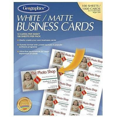 Geographics Royal Brites Business Cards