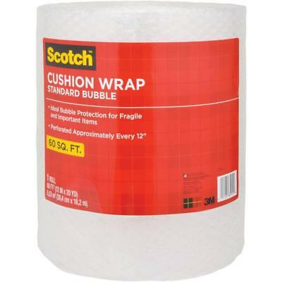 Scotch Bubble Cushion Wrap, 60ft. x 12in., Standard