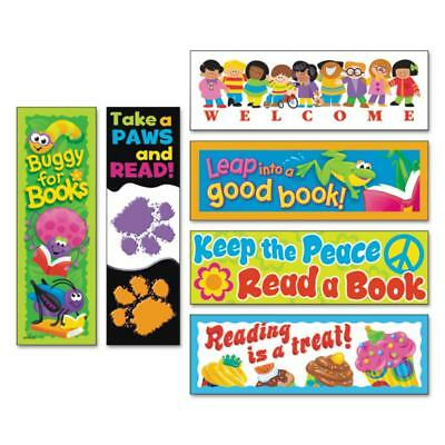 TREND Bookmark Combo Packs, Celebrate Reading Variety #1, 2w x 6h, 216/Pack...