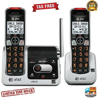AT&T DECT 6.0 Phone Answering with Caller ID/Call Waiting 2 Cordless Handsets