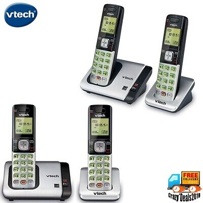 VTech 2-Handset Intercom Expandable Cordless Phone w Caller ID/Call Waiting