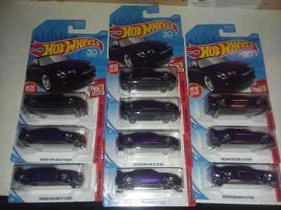 Nissan Skyline GT-R R33 purple Lot of 10 Hot Wheels  HTF 2018