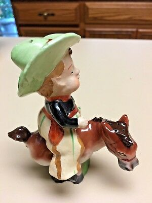 Rider On Horse. Salt & Pepper Set