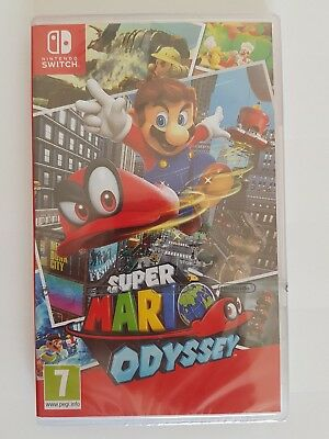 Super Mario Odyssey Nintendo Switch / NEUF , SOUS BLISTER , VER. FR /