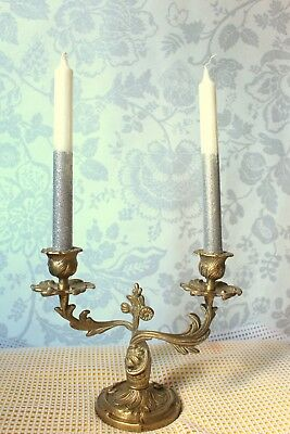 Antique French Vintage - Candelabras, Louis Xv / Rococo Style, Era 19Th