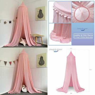 Hanging Princess Bed Canopy Drapes Hideaway Tent Canopies For Girls Kids Rooms C