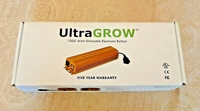 Ultra Grow UG-EB1000 1000 Watt Dimmable Electronic Ballast