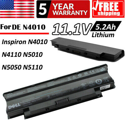 New Genuine Dell Battery Type J1KND 11.1V 48Wh Laptop Computer Battery KBTSHOP