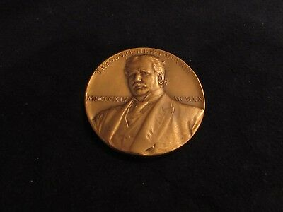 Rare!!  Theodore Newton Vail Bronze Medal...1920's..must See!!  Beautiful.