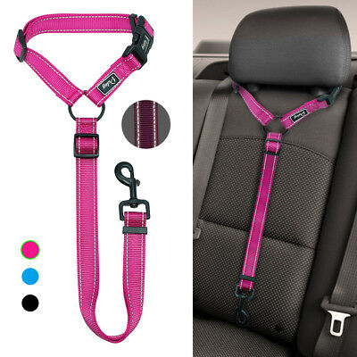 Dog Car Seat Belt Harness Restraint Small Pet Puppy Travel Safety Lead