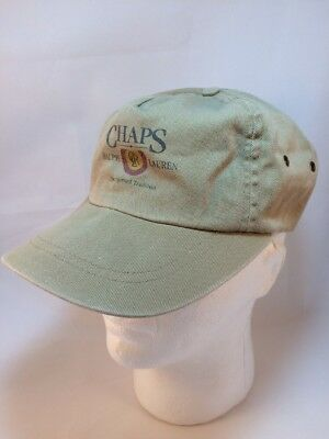 Vintage Ralph Lauren Chaps Hat Military Style Cap Size L/XL Made in USA