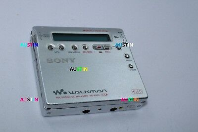 Sony Mz R900 Minidisc Player  Md With Microphone