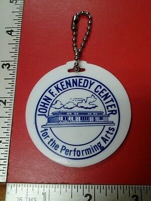 John F Kennedy Center for the performing arts vintage keychain