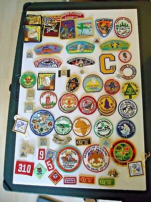 88 PC Vintage-Now BSA Boy Scouts LOT Patches Pins Badges