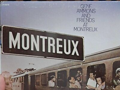 Gene Ammons And Friends At Montreux Jazz Festival - Lp 1973