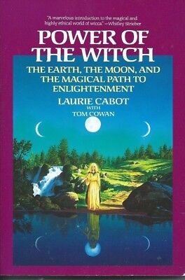 Power Of The Witch Book, Magical Path To Enlightenment By Laurie Cabot