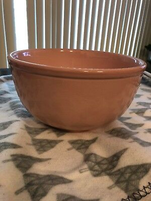 LuRay Pastels Large Mixing Bowl TS&T Sharon Pink Perfect Condition