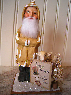 "Vickie Smyers BETHANY LOWE DESIGNS ""Old Father Christmas W/Lamb"" VS6992~New"