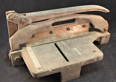JMJ Insudtries Sheet Metal Shear Bench Top Industrial Cutter Model PT-91