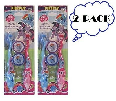 My Little Pony His & Hers Kids Toothbrush Combo By Firefly (2-Pack) Ages 3+