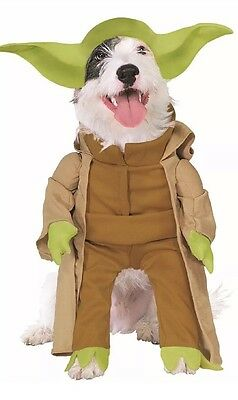 Dog Star Wars Yoda Pet Halloween Costume Size Small  Small Dog Costume