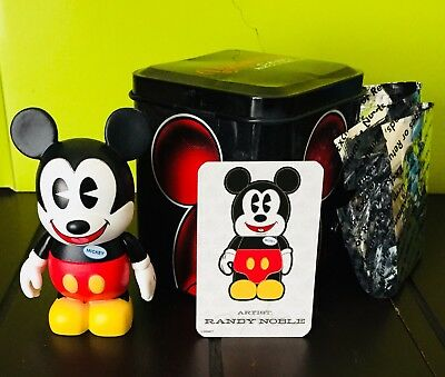 "DISNEY Vinylmation 3"" Park Exclusive Figure W/ Tin And Card"