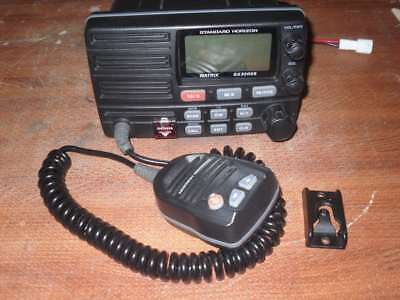 Standard Horizon GX3000S Matrix VHF Radio w/ Mic - Fully Tested Great Condition