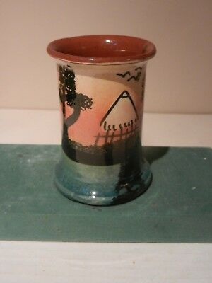 Watcombe vase with African landscape