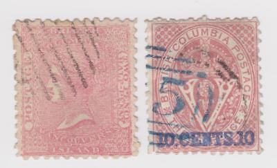 British Columbia & Vancouver #2 and Perforate 12 1/2 #15