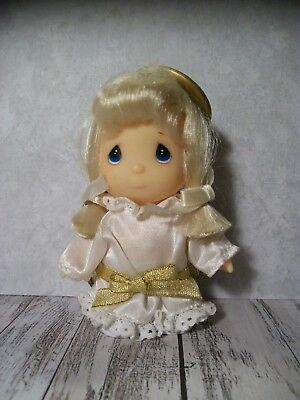 """The Enesco Precious Moments Collection, Doll In Angel Outfit Costume, 4"""""""
