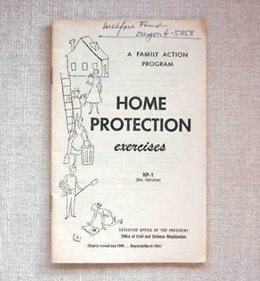 Home Protection Exercises Office of Civil and Defense Mobilization Family Action
