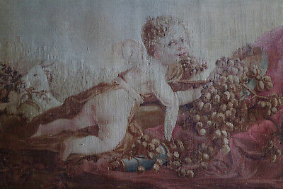 Antique 18Th Century Aubusson Tapestry France