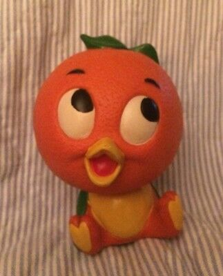"Vintage Walt Disney 5"" Florida Orange Bird Plastic Coin Bank"