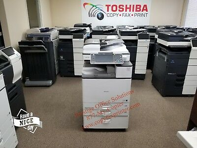 Ricoh Aficio MP C3503 Color Copier. Low Meter