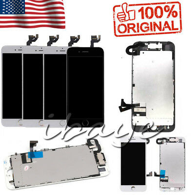 For OEM iPhone 6 6s 7 7 Plus 8 Screen Replacement Lcd Digitizer Complete Button