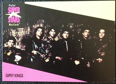 Gypsi Kings Proset Superstar Musicards 1St Edition Card Rare Oop