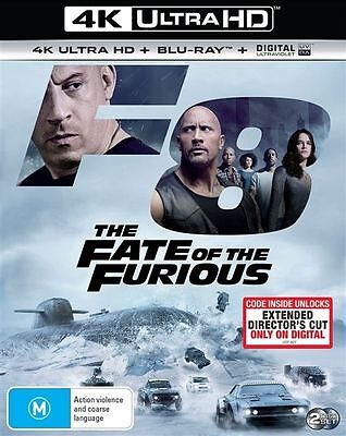 The Fate Of The Furious 4K Ultra HD : NEW UHD Blu-Ray