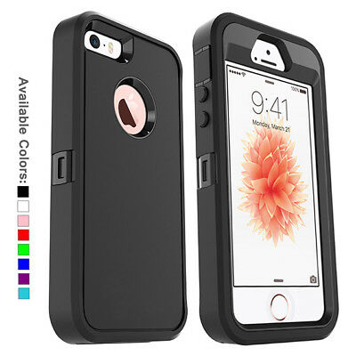 For Apple iPhone SE iPhone 5s Case with Belt Clip Fits Otterbox DEFENDER SERIES