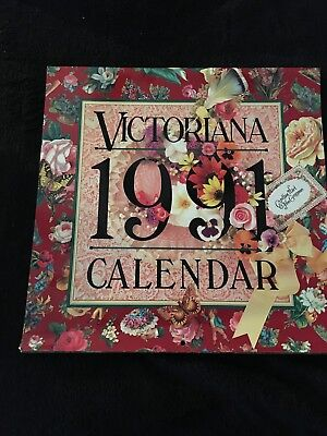 1991 Victorian Calendar from the john Grossman collection of antique images.
