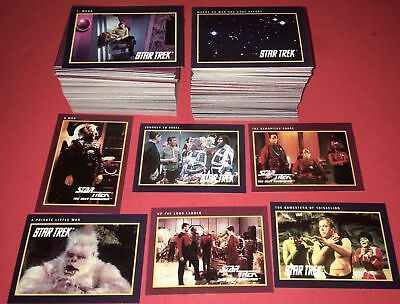 Star Trek 25th Anniversary Series 1 & 2 - Complete Cards SET (310) 1991 - NM
