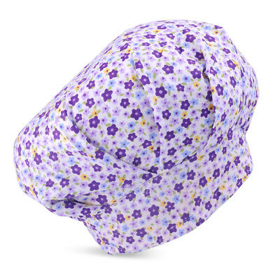 Doctor Flowers Pattern Printing Scrub Cap Bouffant Medical Surgical Surgery Hat