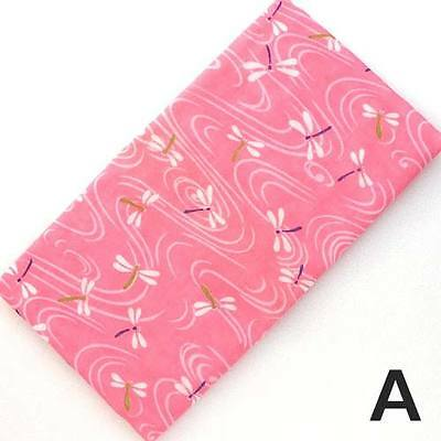 Japanese traditional towel TENUGUI DRAGONFLY PINK GAZE COTTON MADE IN JAPAN